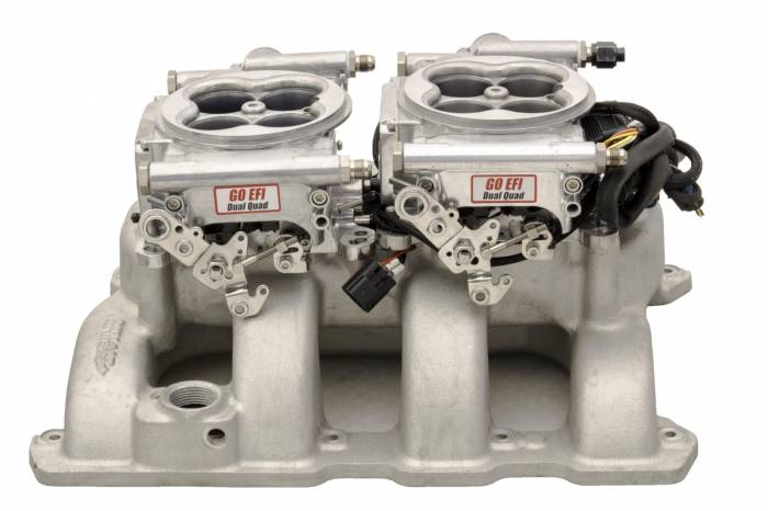 FiTech Fuel Injection - FTH-30061 - FiTech Fuel Injection 30062 Go EFI 2x4 625HP (normally aspirated) Polished Finish