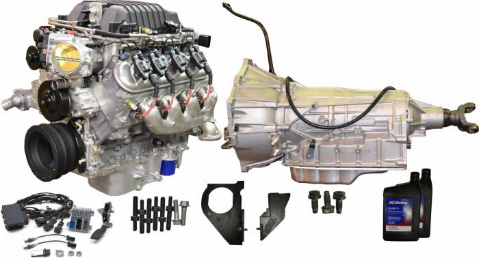 PACE Performance - CPSLSA6L90E -  GM S/C LSA 556HP Engine with 6L90E 6-Speed Auto Transmission Combo Package.