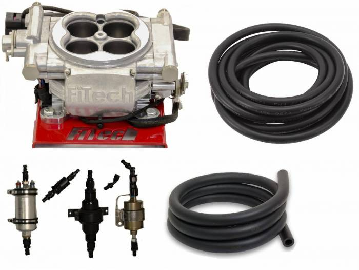 FiTech Fuel Injection - PAC-30001  600HP Carb Swap EFI Master Package with In-Line Fuel Pump