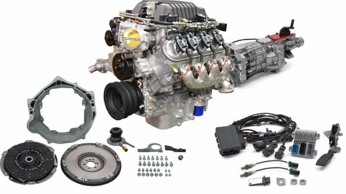 "Chevrolet Performance Parts - CPSLSAT56 - Chevrolet Performance LSA 6.2L Supercharged Engine with T56 6 Speed ""$750.00 REBATE"""