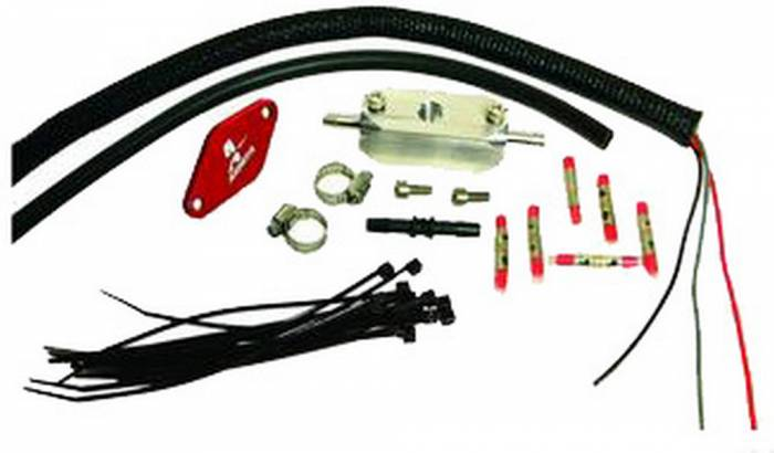 Aeromotive - AEI17114 - 1998 1/2 thru 2004 Ford 4.6 L Fuel Pressure Sensor Relocation Kit
