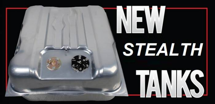Aeromotive - AEI18345 - Fuel Tank, 340 Stealth, 67-68 Camaro, Notched Corners, Aeromotive
