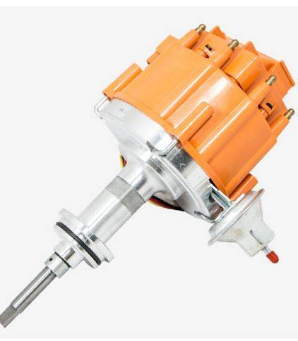 TSP - TSP-JM6513OR Mopar SB Ready to Run HEI Distributor. Orange Cap