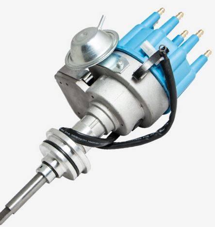TSP - TSP-JM6713BL Mopar SB Ready to Run Electronic Distributor. Blue Cap