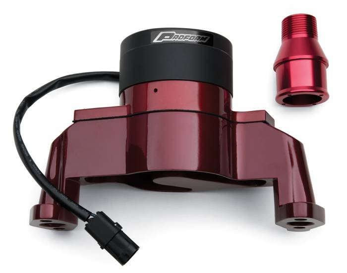 Proform - 66225R - Electric Water Pump - SBC, Red Die-Cast Aluminum