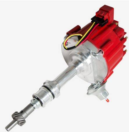 TSP - TSP-JM6502R HEI Distributor - Ford 289 302W V8 Engines, 50K V Coil, Red Cap
