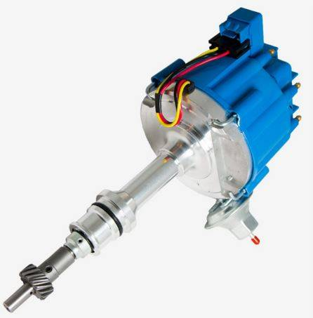 TSP - TSP-JM6502BL HEI Distributor - Ford 289 302W V8 Engines, 50K V Coil, Blue Cap