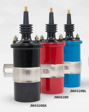 TSP - TSP-JM6928BL Performance Ignition Coil, Male socket - Blue