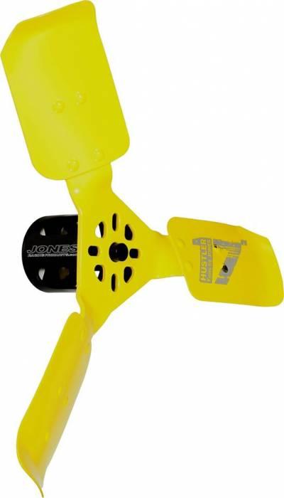 "Jones Racing Products - JRP-WP-9104-17-H3 - Jones Racing Products Hustler Mechanical Cooling Fan, 17"" 3-BLade"