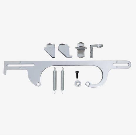TSP - TSP-JM3101C Performance Billet Aluminum Throttle Cable Bracket 4150/4160 Chrome
