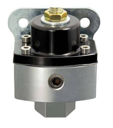 TSP - TSP-JM1057BK Performance HP Billet Fuel Pressure Regulator Black/Clear Anodized. 5-12 PSI