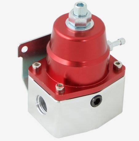 TSP - TSP-JM1059R Performance HP EFI Billet Fuel Pressure Regulator, Red Anodized