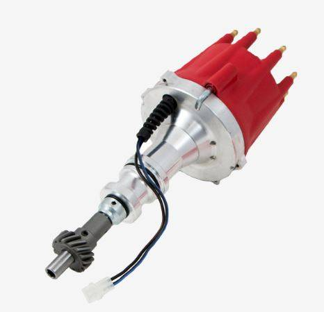TSP - TSP-JM7606R Ford Pro Series Pro-Billet Electronic Distributor. Red Cap. ,351C, 351M, 400M, 429, 460 Cleveland / Modified V8