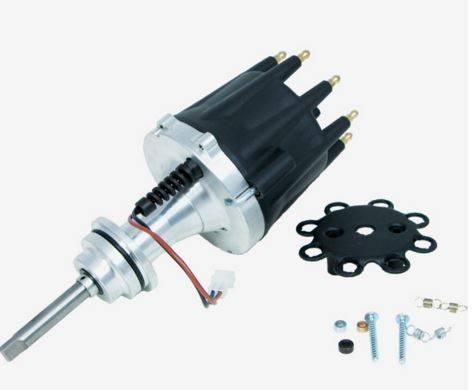 TSP - TSP-JM7619BK Mopar BB- B 383-400 Pro Series Pro-Billet Electronic Distributor. Black Cap