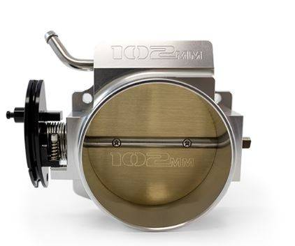 TSP - TSP-81012 - Top Street Performance Hi Flow EFI LS Billet 102mm Throttle Body with cable drive
