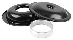 "Allstar Performance - ALL25905 - Lightweight Aluminum 14"" Air Cleaner Kit, No Element, Black Finish, 1-1/2"" Spacer"