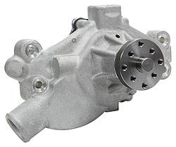 "Allstar Performance - ALL31105 - SB Chevy Water Pump, 1971-82 Corvette, 3/4"" Shaft Diameter, Mechanical, Short Style"