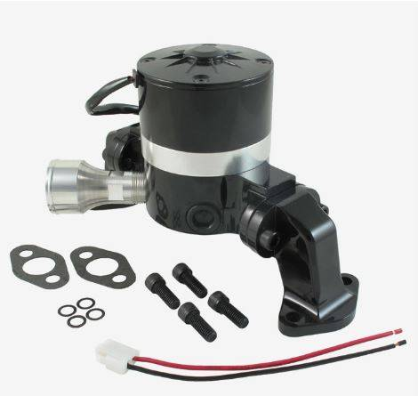 TSP - TSP-HC8020BK - Electric Water Pump - BBC, Black Finish,  Aluminum, 35 GPM