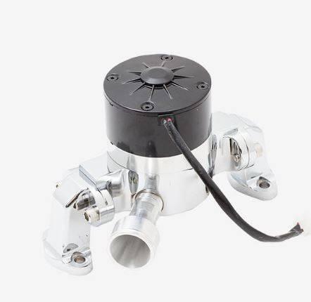 TSP - TSP-HC8010C - Electric Water Pump - SBC, Chrome Finish,  Aluminum, 35 GPM