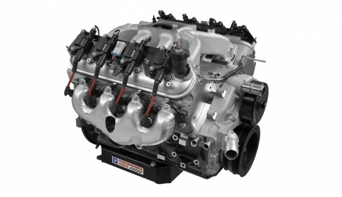 Chevrolet Performance Parts - 19331563 - Chevrolet Performance Parts CT525 LS3 6.2L (sealed) Circle Track Race Engine 376CID 525HP