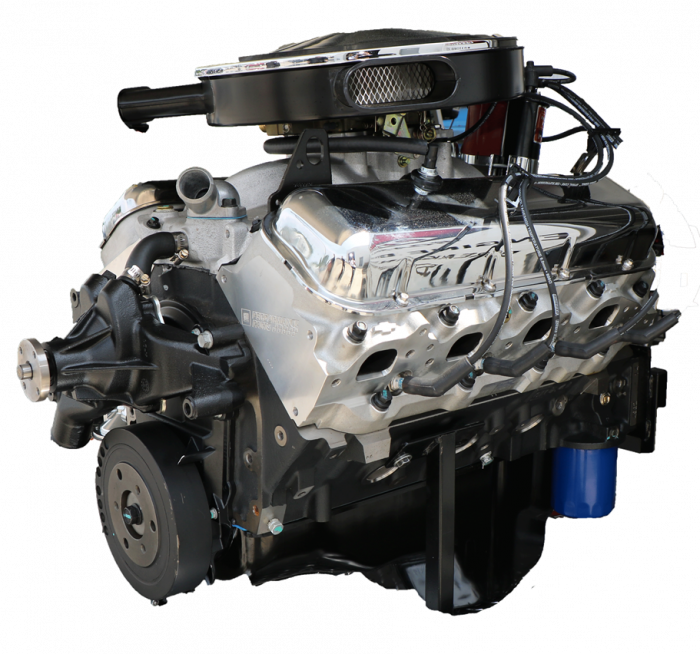 PACE Performance - GMP-12498777-CX - Pace Prepped & Primed CPP ZZ454 440HP Classic OE Finish Crate Engine