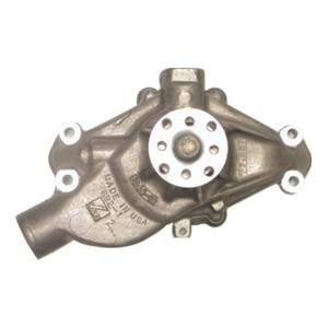 Jones Racing Products - JRP-WP-9104-SBC-AL - Chevy Small Block Water Pump, Short, Aluminum