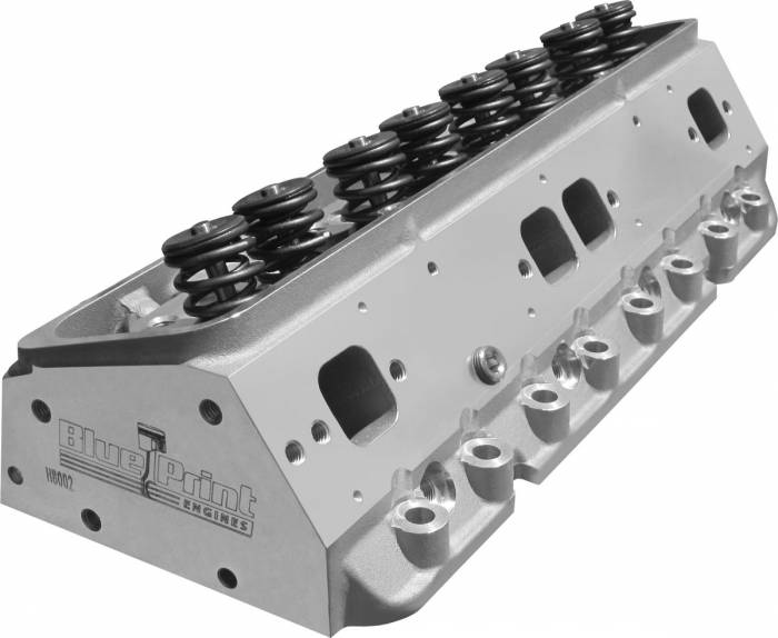 Blue Print - H8002K - Chevy Small Block Cylinder Heads, 195cc, Sold in Pairs
