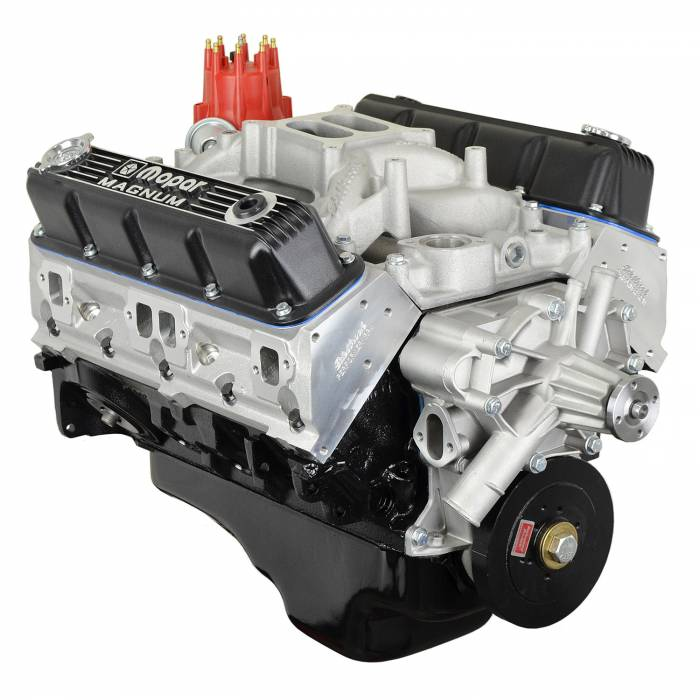 ATK Engines - HPE-HP46M-MAG - ATK Chrysler 408 Partial Dressed Engine • Aluminum Heads • Hyd Roller Cam • 465 HP/ 535 FT LBS