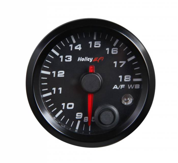 Holley Performance - Holley 534-215 Stand Alone Wideband Gauge - 2 1/16 in. - Black Face