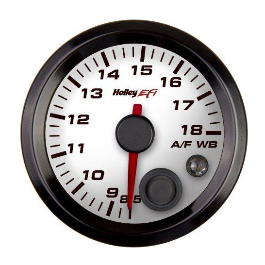 Holley Performance - Holley 534-215W Stand Alone Wideband Gauge - 2 1/16 in. - White Face