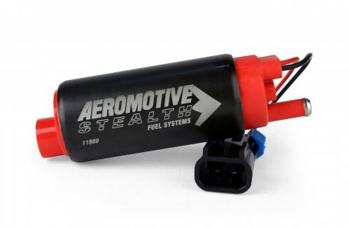 Aeromotive - AEI11569 - 340 Series Stealth In-Tank Fuel Pump, center Inlet - offset (GM applications)