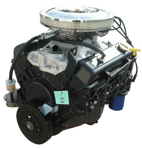 PACE Performance - GMP-12499529-JX - Pace Primed & Prepped SBC 350 290HP Budget Turnkey Crate Engine