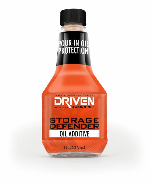 Joe Gibbs Driven Racing Oil - JGD-70052 - Storage Defender Oil Additive, 6 oz Bottle