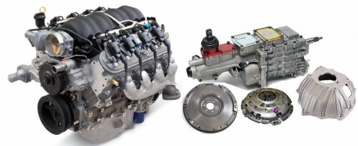 PACE Performance - GMP-TK6LS525 - Pace LS3 525HP with Tremec TKO 600 5 Speed Transmission Package