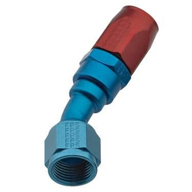 Fragola - FRA103008 - Fragola 30 Degree Hose Ends, Series 3000, 8AN Red/Blue