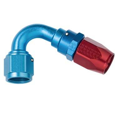 Fragola - FRA112004 -  Fragola 120 Degree Hose Ends, Series 3000, 4AN Red/Blue