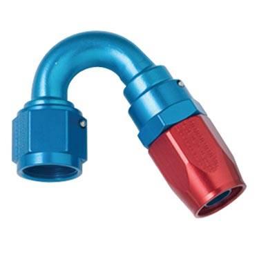 Fragola - FRA115008 -  Fragola 150 Degree Hose Ends,Series 3000, 8AN Red/Blue
