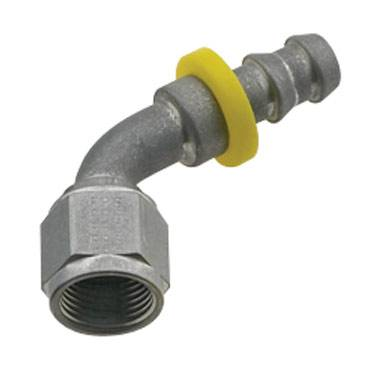Fragola - FRA206008-CL - Fragola Series 8000 Push-Lite Race Hose Ends, 60 Degree, 8AN, Clear