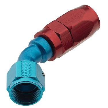 Fragola - FRA224512 -  Fragola Series 2000 Pro Flow Hose End,Anodized,45 Degree Standard Radius -12