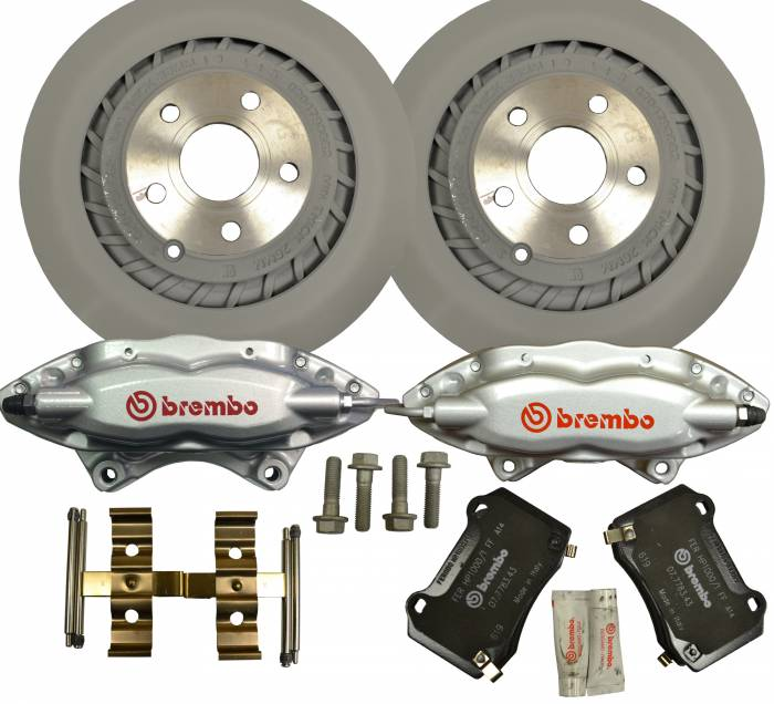 PACE Performance - PAC-SSBRAKE - 2014 Chevrolet SS OEM Rear Brembo Upgrade Kit