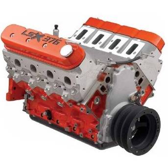 Chevrolet Performance Parts - 19332320 - CPP LSX376-B15 450 HP Crate Engine