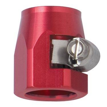 "Fragola - FRA280003 -  Fragola E-Z Clamp Hose Ends, -3AN (.437"" ID), Red"