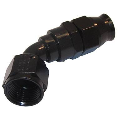 Fragola - FRA686010-BL - Fragola P.T.F.E. Reusable Hose End,-10AN 60 Degree, Black Aluminum