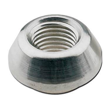 "Fragola - FRA499502 -  Fragola Weld Bung With .750"" Diameter Step,Aluminum -  Female Thread,1/8"" NPT"