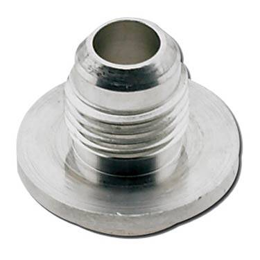 "Fragola - FRA499552 -  Fragola Weld Bung With .750"" Diameter Step,Aluminum,4AN Male"