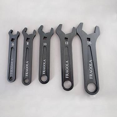 Fragola - FRA900050 -  Fragola Single Ended Wrench Set,6AN, 8AN, 10AN, 12AN, 16AN