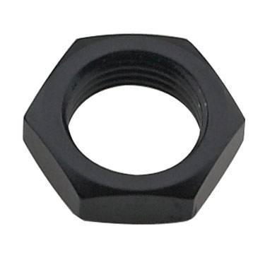 "Fragola - FRA492412-BL - Fragola Bulkhead Nut, Black, 12AN, 1-1/16""-12 Thread"