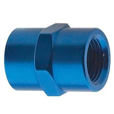 """Fragola - FRA491003 -  Fragola Female Pipe Coupler,Blue,3/8"""" NPT"""