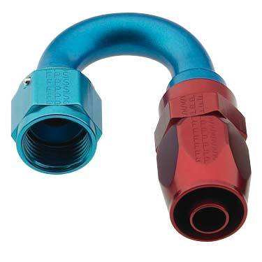 Fragola - FRA231808 -  Fragola Series 2000 Pro Flow Hose End,Anodized,180 Degree Standard Radius -8