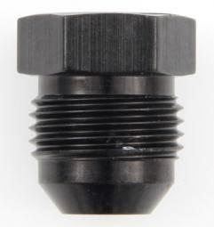 Fragola - FRA480606-BL - Fragola Flare Plug,Black,6AN